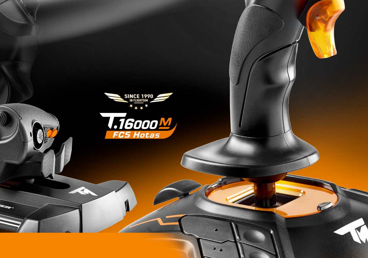 A large marketing image providing additional information about the product Thrustmaster T.16000M FCS HOTAS For PC - Additional alt info not provided