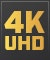 Product Feature badge with title: 4K Optimised