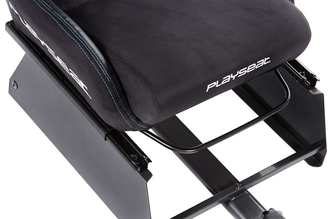 A large marketing image providing additional information about the product Playseat Seat Slider For Driving Simulator - Additional alt info not provided