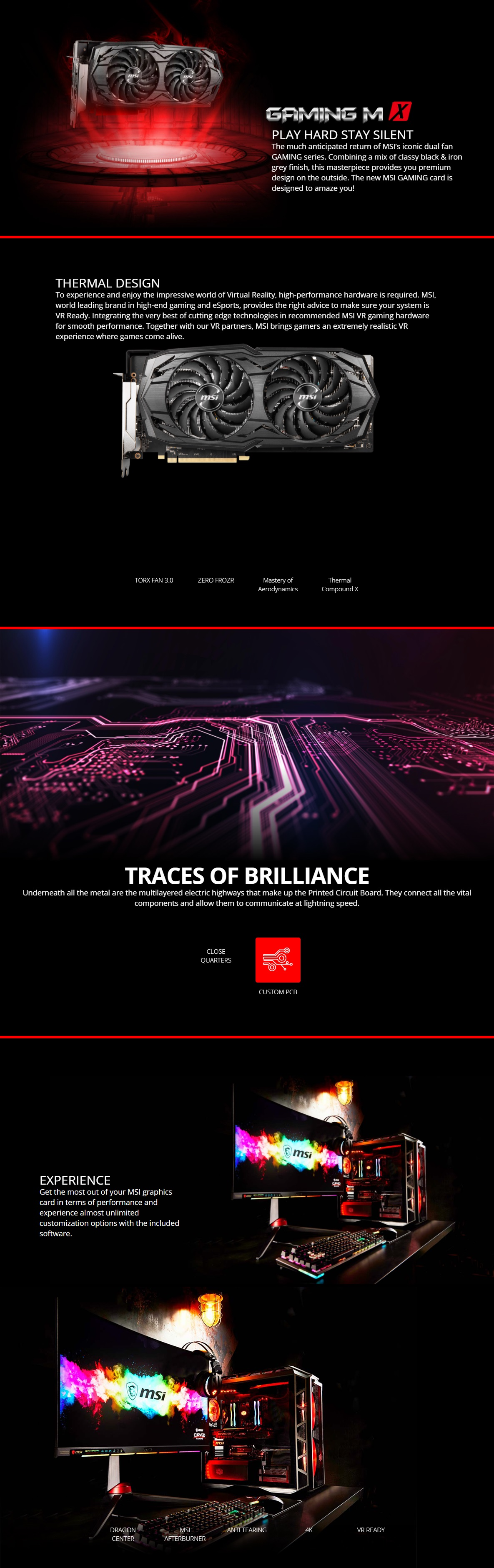 A large marketing image providing additional information about the product MSI Radeon RX 5600 XT GAMING MX 6GB GDDR6 - Additional alt info not provided