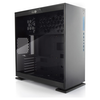 A product image of InWin 303 Black Mid Tower Case w/Tempered Glass Side Panel