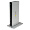 A product image of Startech USB3.0 Laptop Docking Station with Dual DVI - Laptop Dock