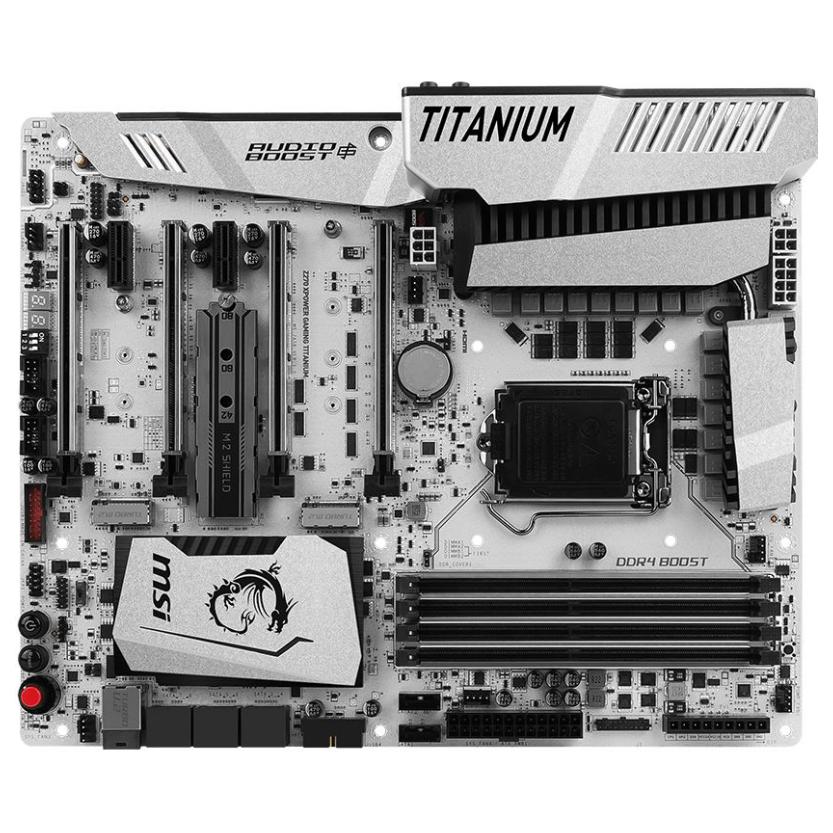 Msi Z270 Xpower Gaming Titanium Lga1151 Atx Desktop