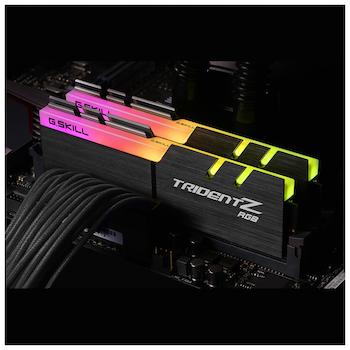 Product image of G.Skill 16GB (2x8GB) DDR4 Trident Z RGB 3000MHz - Click for product page of G.Skill 16GB (2x8GB) DDR4 Trident Z RGB 3000MHz