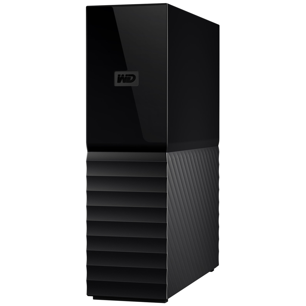 "A large main feature product image of WD My Book 8TB USB3.0 3.5"" Black External HDD"