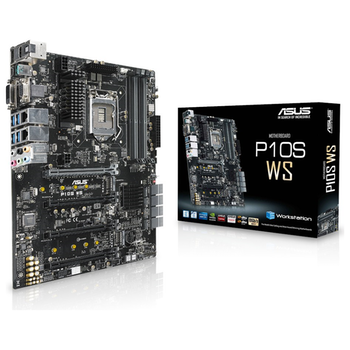 Product image of ASUS P10S WS LGA1151 ATX Workstation Motherboard - Click for product page of ASUS P10S WS LGA1151 ATX Workstation Motherboard