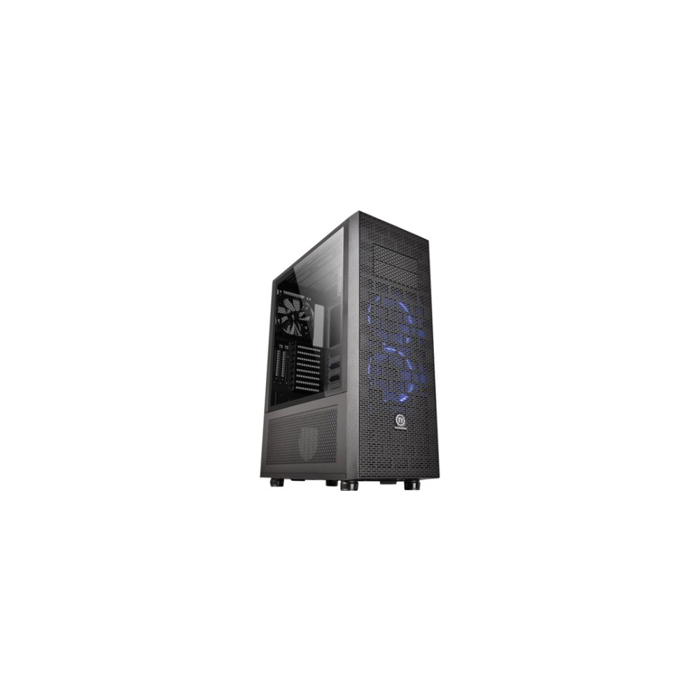 A large main feature product image of Thermaltake Core X71 Tempered Glass Riing Edition Full Tower Case