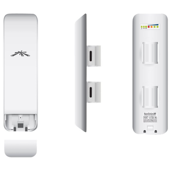 Product image of Ubiquiti 2.4GHz NanoStation M2 MIMO AIRMAX - Click for product page of Ubiquiti 2.4GHz NanoStation M2 MIMO AIRMAX