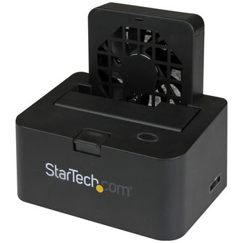 Product image of Startech Docking station for SATA HDD - eSATA & USB 3.0 w/ fan - Click for product page of Startech Docking station for SATA HDD - eSATA & USB 3.0 w/ fan