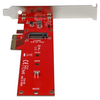 A product image of Startech x4 PCIe to M.2 PCIe SSD Adapter for M.2 NGFF SSD (NVMe/AHCI)