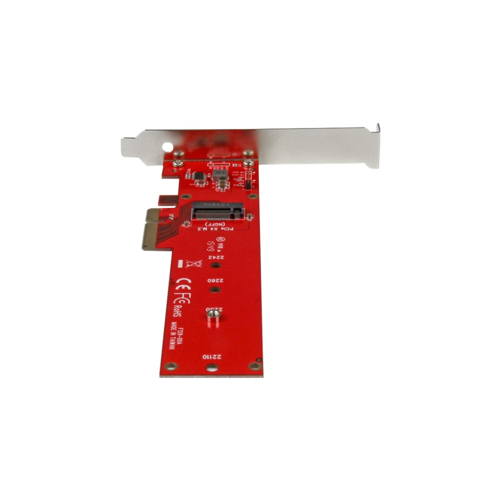 A large main feature product image of Startech x4 PCIe to M.2 PCIe SSD Adapter for M.2 NGFF SSD (NVMe/AHCI)