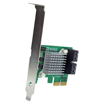 Product image of Startech 4 Port PCIe SATA III Controller Card - Click for product page of Startech 4 Port PCIe SATA III Controller Card