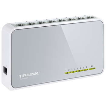 Product image of TP-LINK SF1008D 8-Port Unmanaged Fast Ethernet Switch - Click for product page of TP-LINK SF1008D 8-Port Unmanaged Fast Ethernet Switch