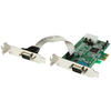 A product image of Startech 2 Port Low Profile Native RS232 PCI Express Serial Card