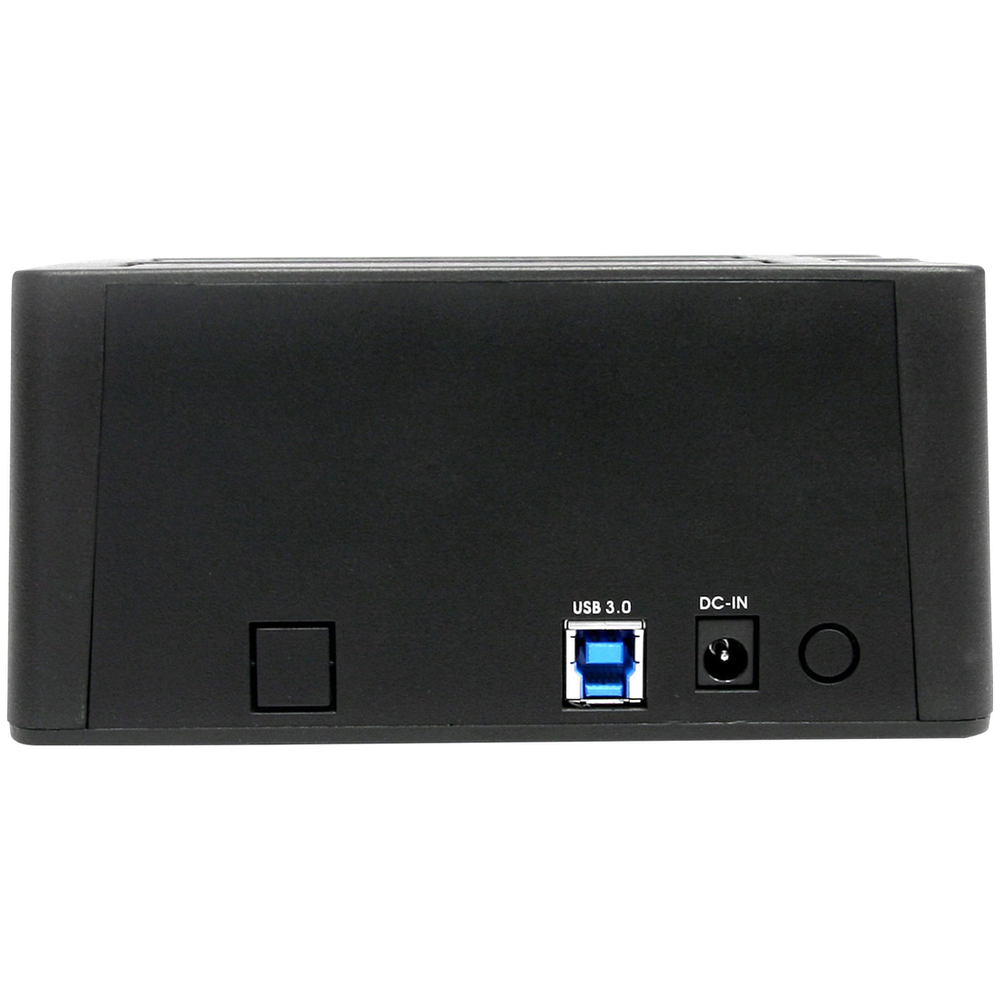 A large main feature product image of Startech USB3.0 Dual SATA Hard Drive Docking Station w/ UASP