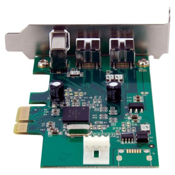 Product image of Startech 2b 1a LP PCI Express FireWire Card - Click for product page of Startech 2b 1a LP PCI Express FireWire Card