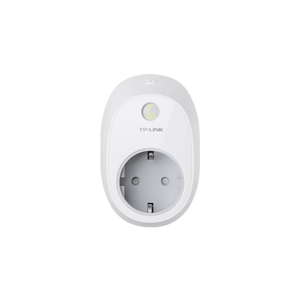 A large main feature product image of TP-LINK HS100 Smart Wi-Fi Plug