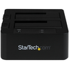 """A product image of Startech eSATA/USB 3.0 Dual 2.5/3.5"""" SATA SSD/HDD Dock with UASP"""