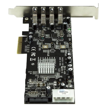Product image of Startech 4 Port PCIe USB 3.0 Card w/ 2 Channels - Click for product page of Startech 4 Port PCIe USB 3.0 Card w/ 2 Channels