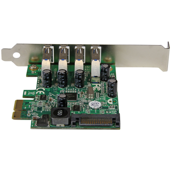 Product image of Startech 4 Port PCI Express PCIe USB 3.0 Card - Click for product page of Startech 4 Port PCI Express PCIe USB 3.0 Card