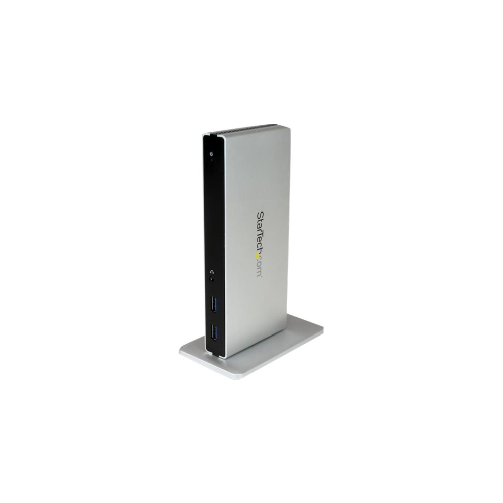 A large main feature product image of Startech USB3.0 Laptop Docking Station with Dual DVI - Laptop Dock