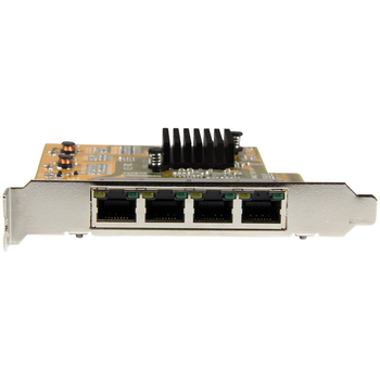 Product image of Startech 4-Port PCIe Gigabit Network Adapter Card - Click for product page of Startech 4-Port PCIe Gigabit Network Adapter Card