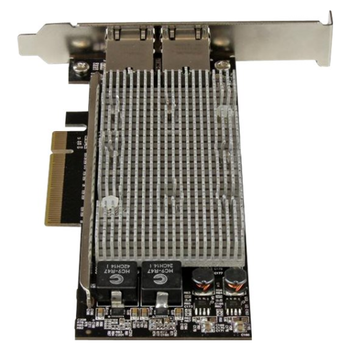 Product image of Startech 2-Port PCIe 10Gb Ethernet Network Card - Click for product page of Startech 2-Port PCIe 10Gb Ethernet Network Card