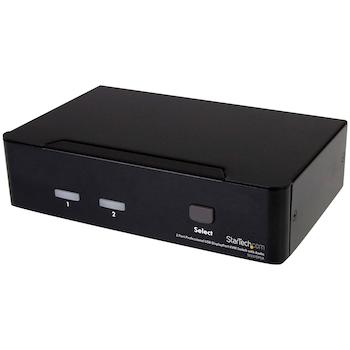 Product image of Startech 2 Port USB DisplayPort KVM Switch - Click for product page of Startech 2 Port USB DisplayPort KVM Switch