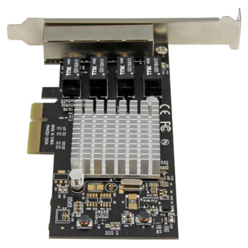 Product image of Startech 4-Port Gigabit Ethernet Network Card - Click for product page of Startech 4-Port Gigabit Ethernet Network Card