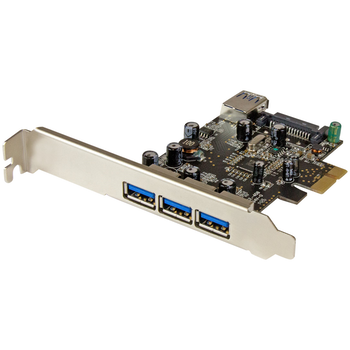 Product image of Startech 4 Port PCIe USB 3.0 Card - Click for product page of Startech 4 Port PCIe USB 3.0 Card