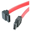 A product image of Startech 12in SATA to Left Angle SATA Serial ATA Cable