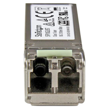 Product image of Startech 10Gb Fiber SFP+ - Cisco SFP-10G-LR Compatible- SM LC - 10km - Click for product page of Startech 10Gb Fiber SFP+ - Cisco SFP-10G-LR Compatible- SM LC - 10km