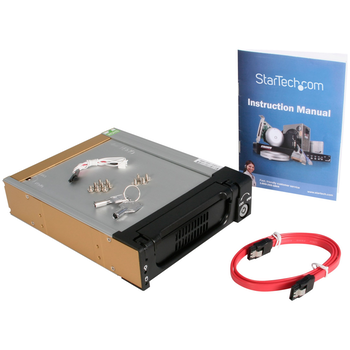 Product image of Startech 5.25in Rugged SATA HDD Mobile Rack Drawer - Click for product page of Startech 5.25in Rugged SATA HDD Mobile Rack Drawer