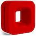 NZXT Puck Headset Hanger Red
