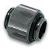 EK AF Extender 12mm M-M G1/4 Adapter - Black Nickel