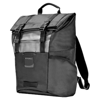 "Product image of Everki ContemPRO 15.6"" Roll Top Backpack (Black) - Click for product page of Everki ContemPRO 15.6"" Roll Top Backpack (Black)"