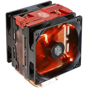 Product image of Cooler Master Hyper 212 LED Turbo (Red LED) CPU Cooler - Click for product page of Cooler Master Hyper 212 LED Turbo (Red LED) CPU Cooler
