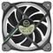 A small tile product image of Thermaltake Riing Plus 3 Pack 120mm RGB LED Premium Edition Fans w/ Controller