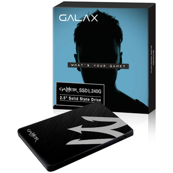 "Product image of Galax Gamer L 240GB 2.5"" SSD - Click for product page of Galax Gamer L 240GB 2.5"" SSD"