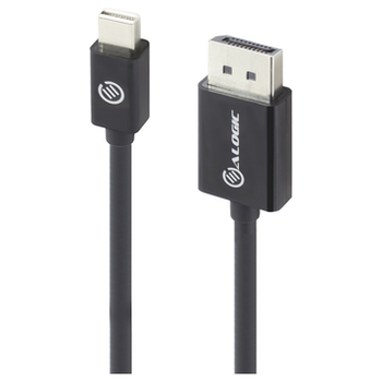 Product image of ALOGIC Elements Mini DisplayPort to DisplayPort V1.2 2m Cable - Click for product page of ALOGIC Elements Mini DisplayPort to DisplayPort V1.2 2m Cable