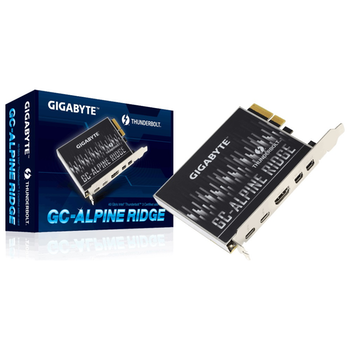 Product image of Gigabyte Alpine Ridge Dual Thunderbolt 3 Card - Click for product page of Gigabyte Alpine Ridge Dual Thunderbolt 3 Card