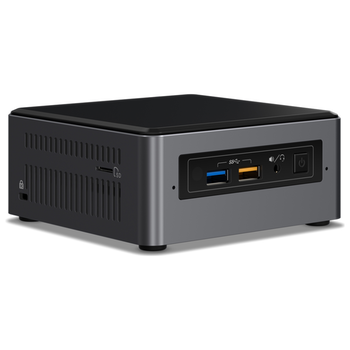 """Product image of Intel NUC Gen7 Baby Canyon i5 Barebones Mini PC w/2.5"""" Drive Bay - Click for product page of Intel NUC Gen7 Baby Canyon i5 Barebones Mini PC w/2.5"""" Drive Bay"""