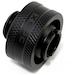 XSPC G1/4 13mm 1/2 Matte Black Compression Fitting