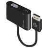 A product image of ALOGIC 2-in-1 Displayport to HDMI/VGA Adapter