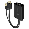 A product image of ALOGIC Elements HDMI to Displayport Adapter Converter