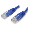 A product image of Startech Cat5e 1m Blue Molded UTP Patch Cable