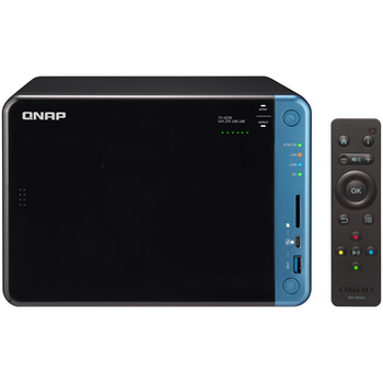 Product image of QNAP TS-653B 1.5GHz 4GB 6 Bay NAS Enclosure - Click for product page of QNAP TS-653B 1.5GHz 4GB 6 Bay NAS Enclosure