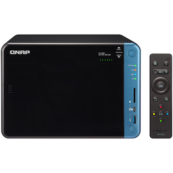 Product image of QNAP TS-653B 1.5GHz 8GB 6 Bay NAS Enclosure - Click for product page of QNAP TS-653B 1.5GHz 8GB 6 Bay NAS Enclosure
