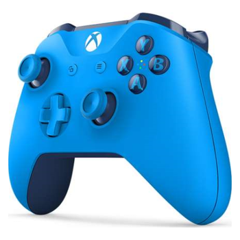 Product image of Microsoft Xbox One Controller for Windows - Blue - Click for product page of Microsoft Xbox One Controller for Windows - Blue