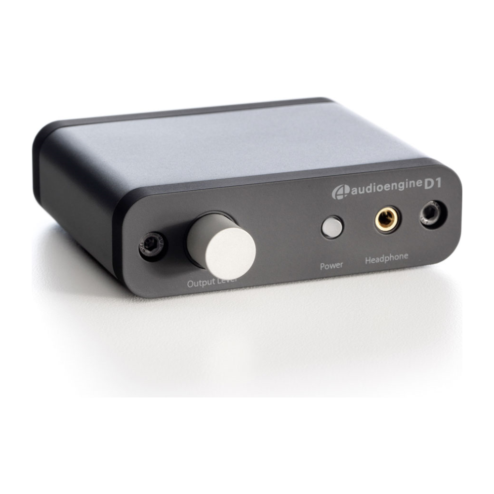 A large main feature product image of Audioengine D1 24-bit DAC/Headphone Amp